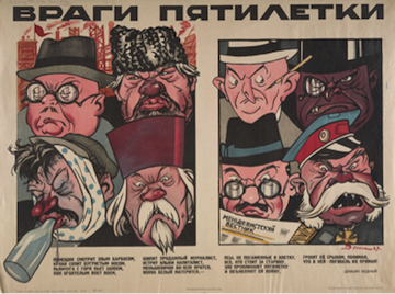 First Five Year Plan, 1928-32, Enemies of the People, Wreckers