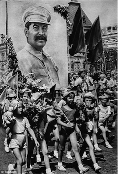Cult of Stalin, Moscow, Red Square