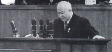Khrushchev, Secret Speech, Twentieth Party Congress, February 1956