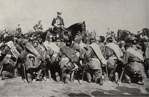 First World War, World War 1, Russian Army, Russian troops, Tsar Nicholas II