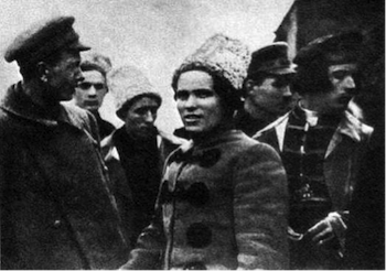Nestor Makhno, Anarchist partisans, Ukraine, Russian Civil War
